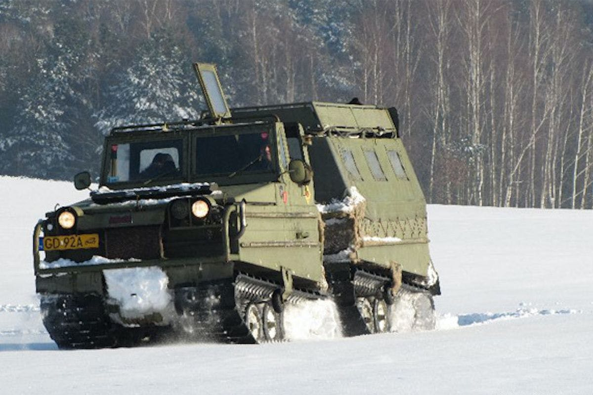 Junior Military Vehicle Driving Experience