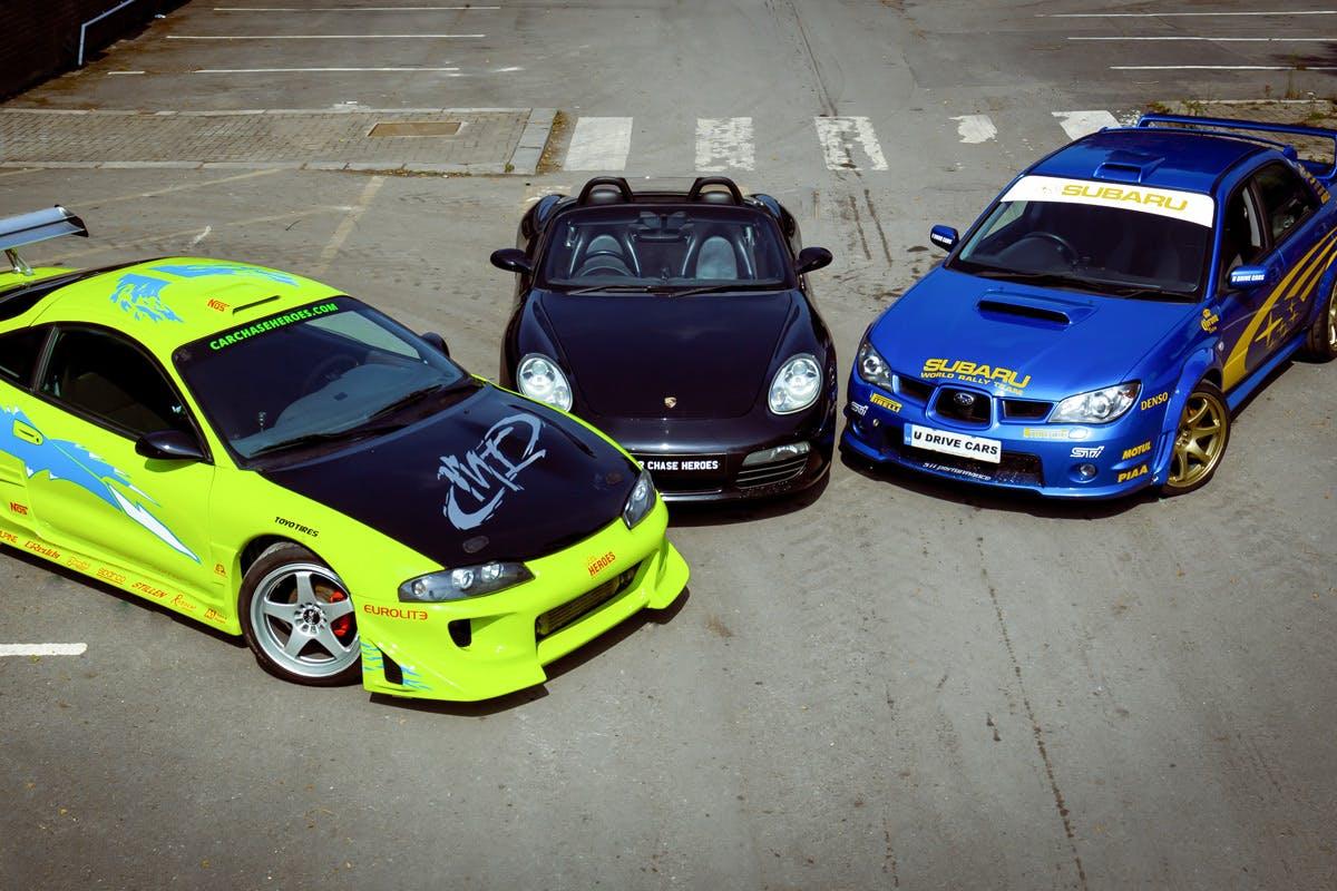 Junior Triple Sports Car Experience