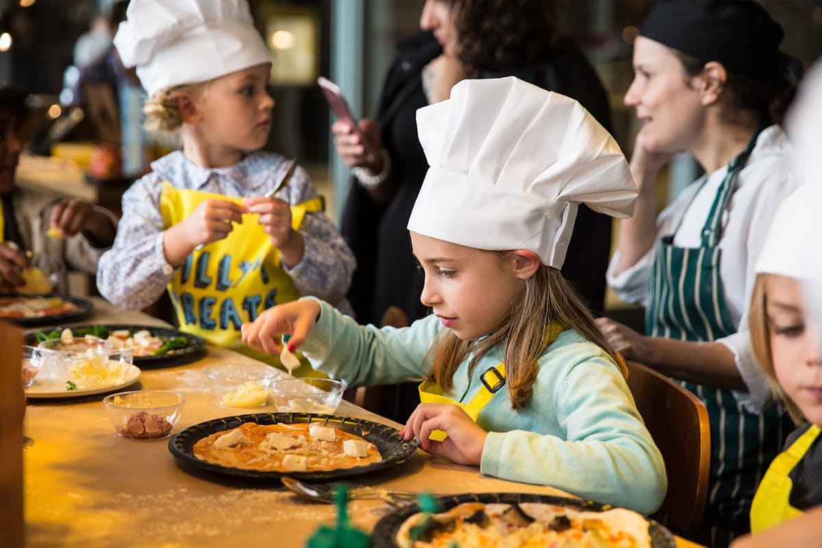 Kid's Pizza Masterclass and Family Brunch at Gordon Ramsay's Bread Street Kitchen