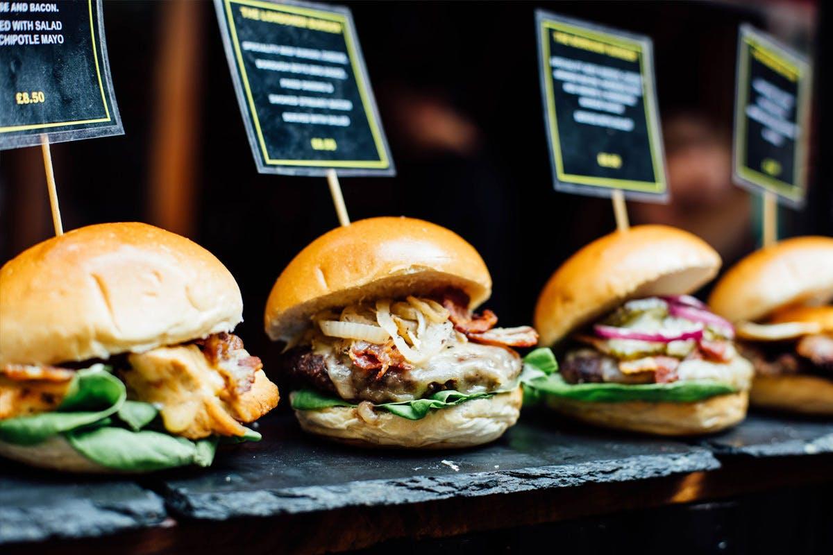 London Bridge Secret Food Tour with Tastings and Drinks