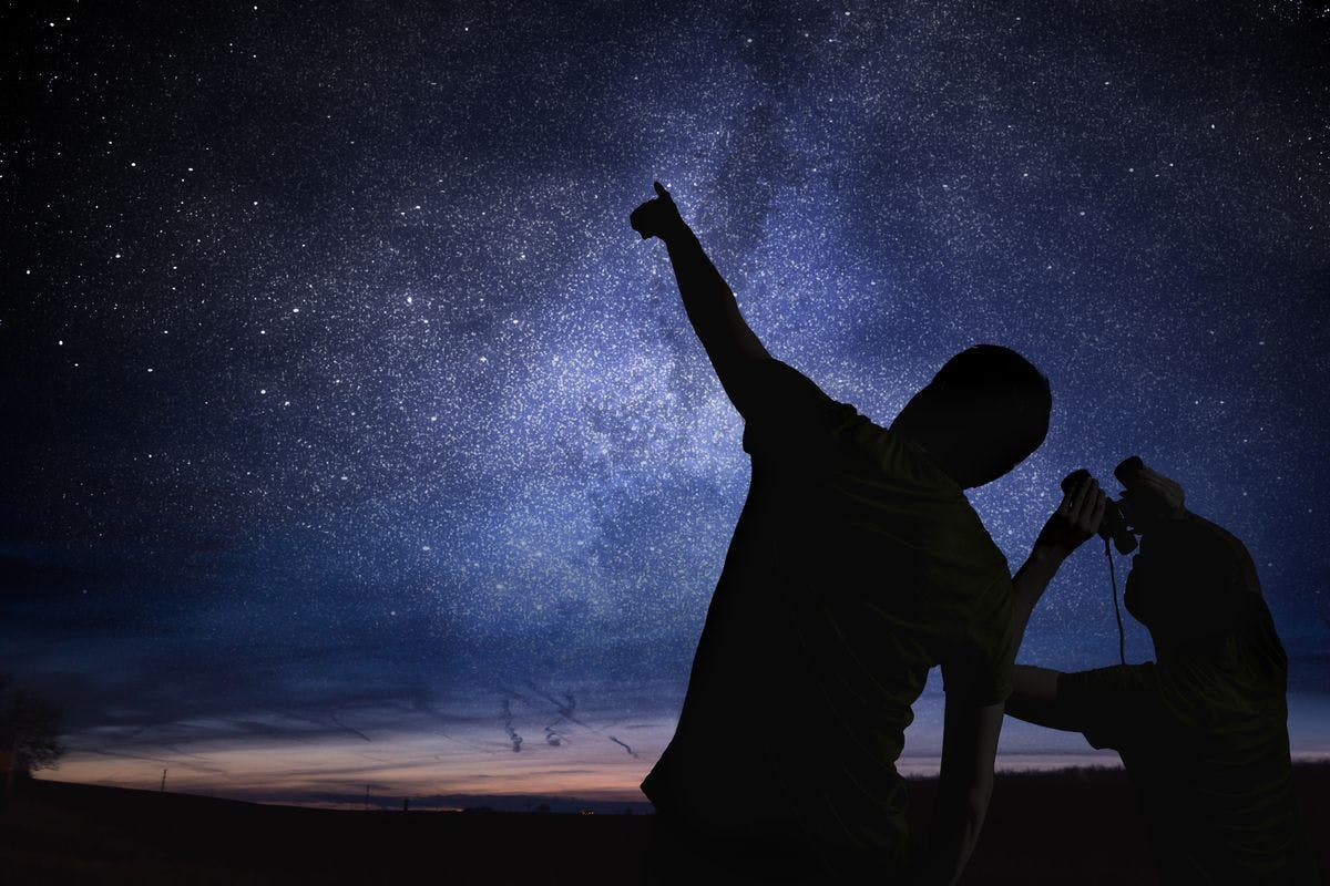 Name a Star with Certificate and Stargazing for Two