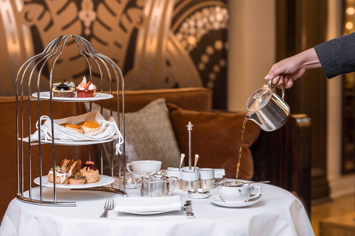 Nineteen Twen-Tea Afternoon Tea for Two at The 5* Sheraton Grand London Park Lane