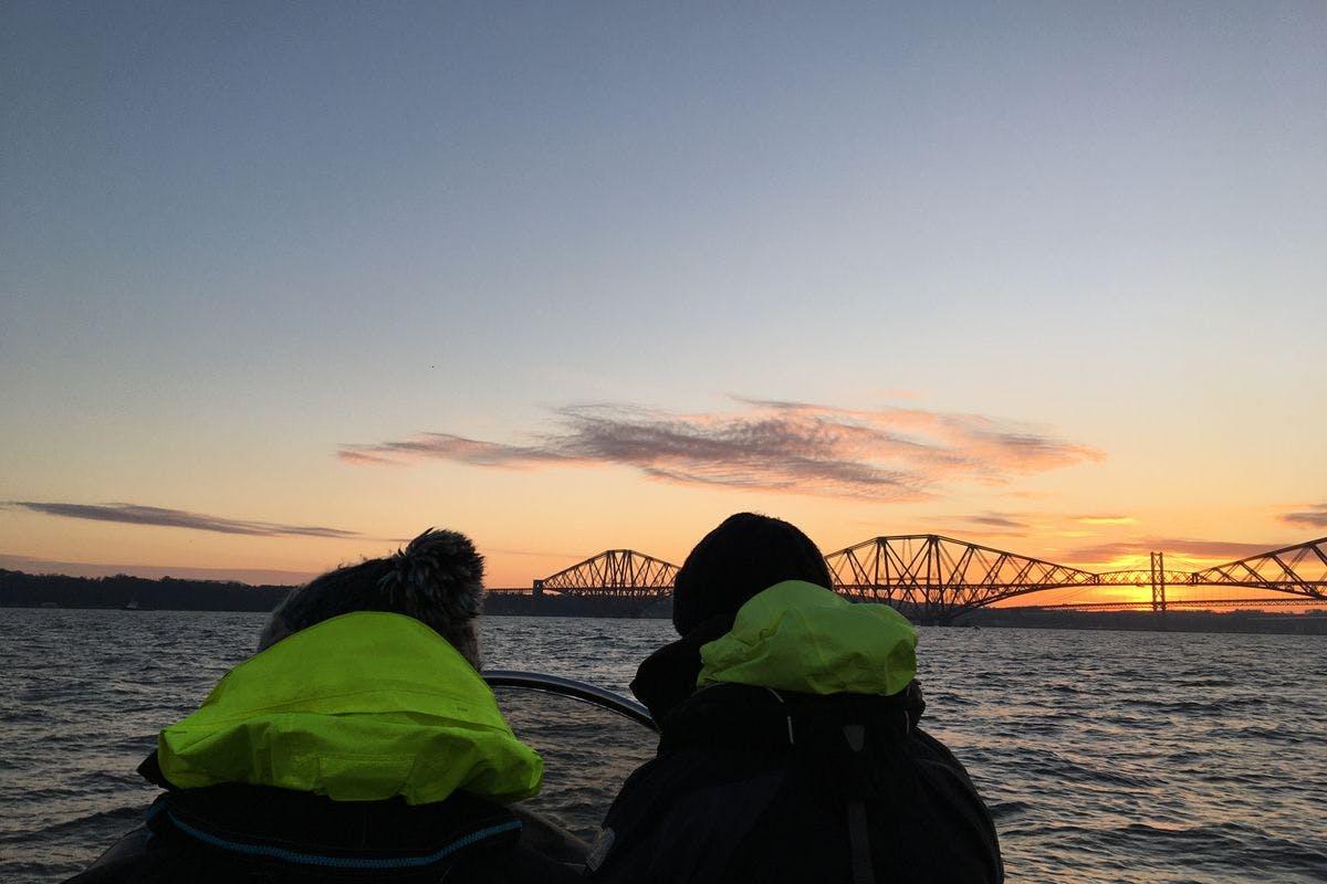 One Hour Three Bridges Sea Safari on the Forth