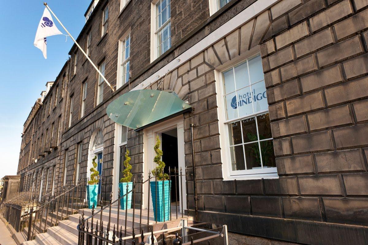 One Night Boutique Edinburgh City Break for Two at Hotel Indigo