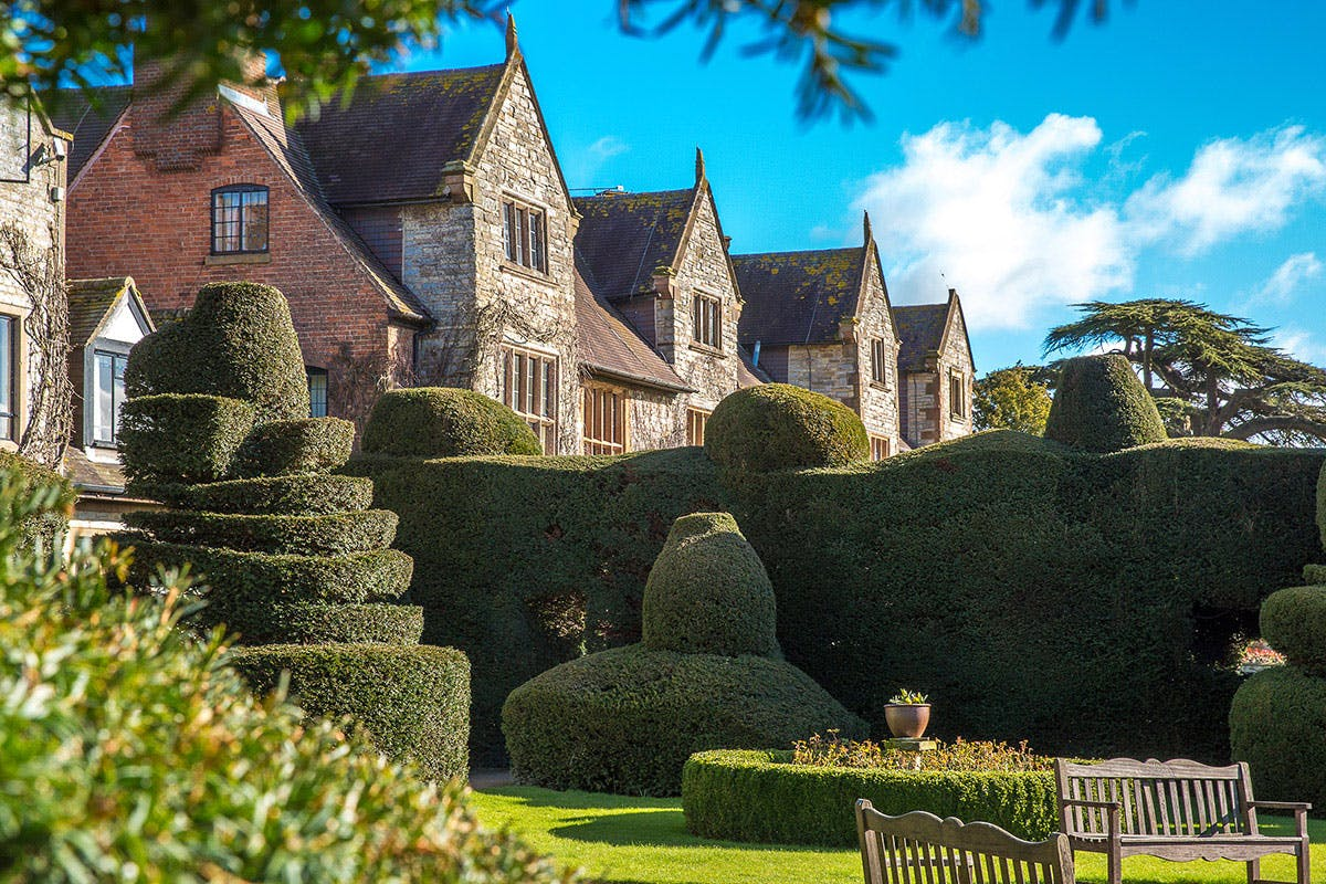 One Night Break for Two at the Historic Billesley Manor Hotel