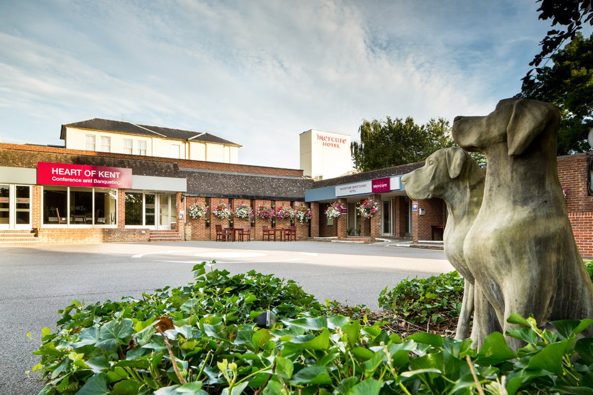 One Night Break with Dinner for Two at the Mercure Maidstone Great Danes Hotel