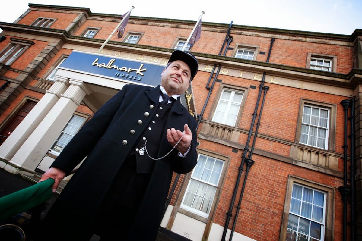 One Night Break with Dinner for Two at Hallmark Hotel Derby Midland