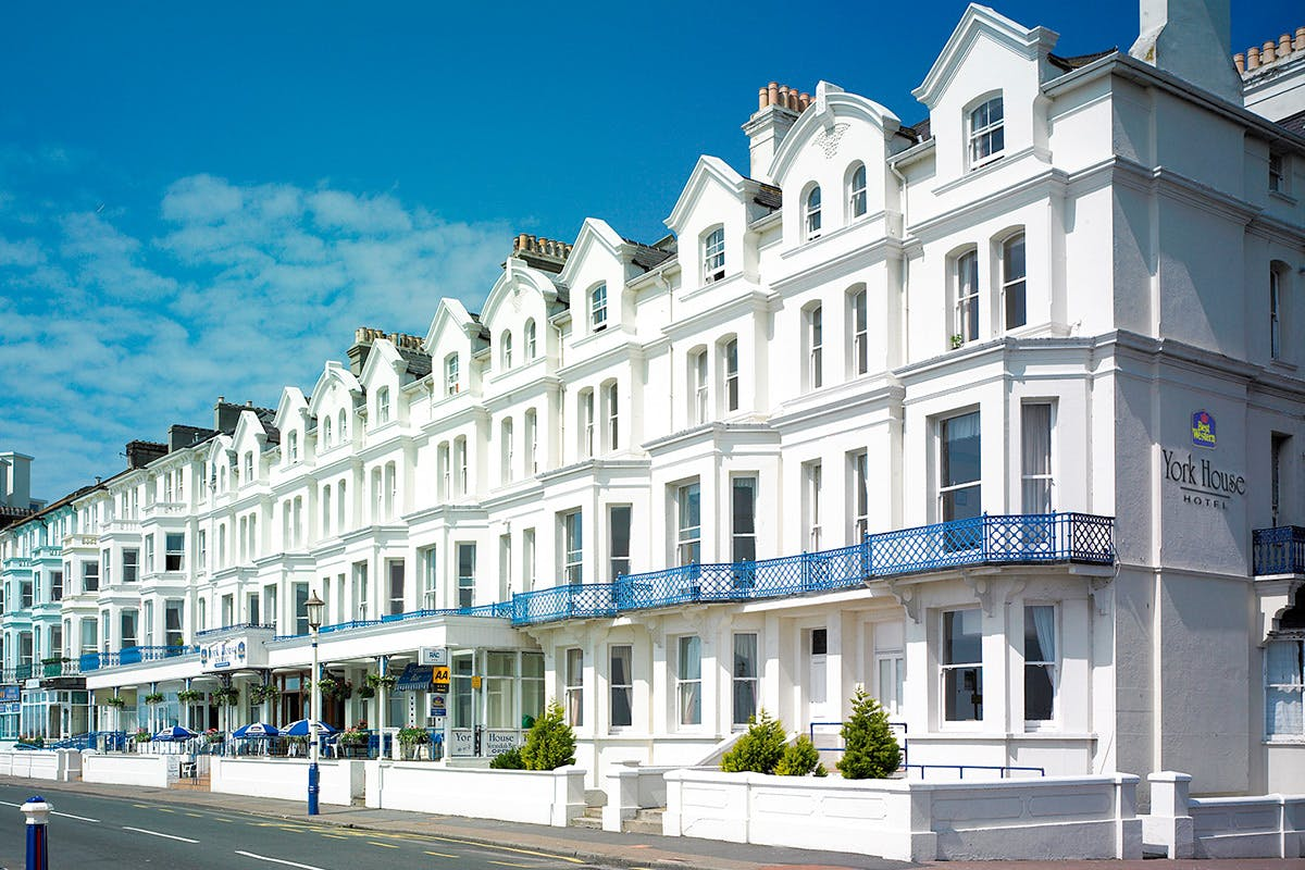 One Night Coastal Escape for Two at the York House Hotel, Eastbourne