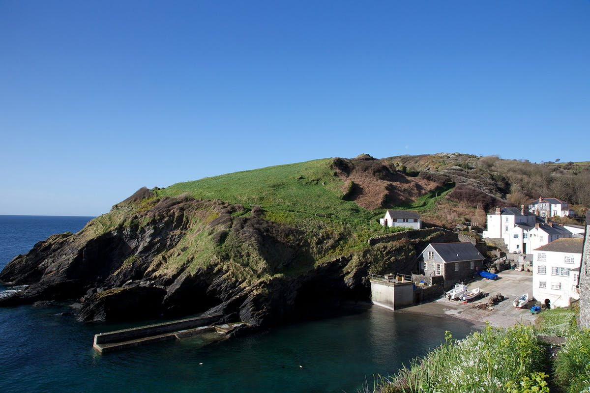 One Night Cornish Coastal Escape for Two at Lugger Hotel, Portloe