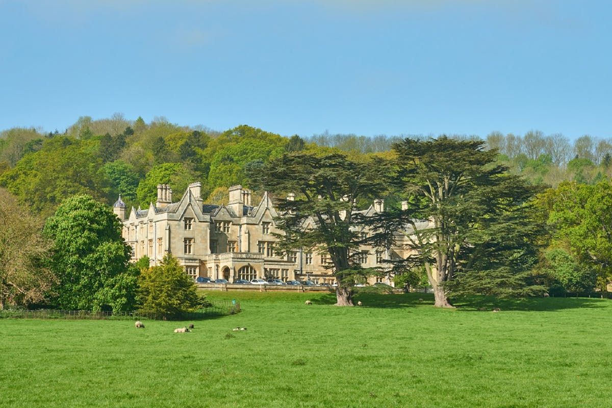 One Night Cotswolds Break with Dinner for Two at Dumbleton Hall Country House Hotel