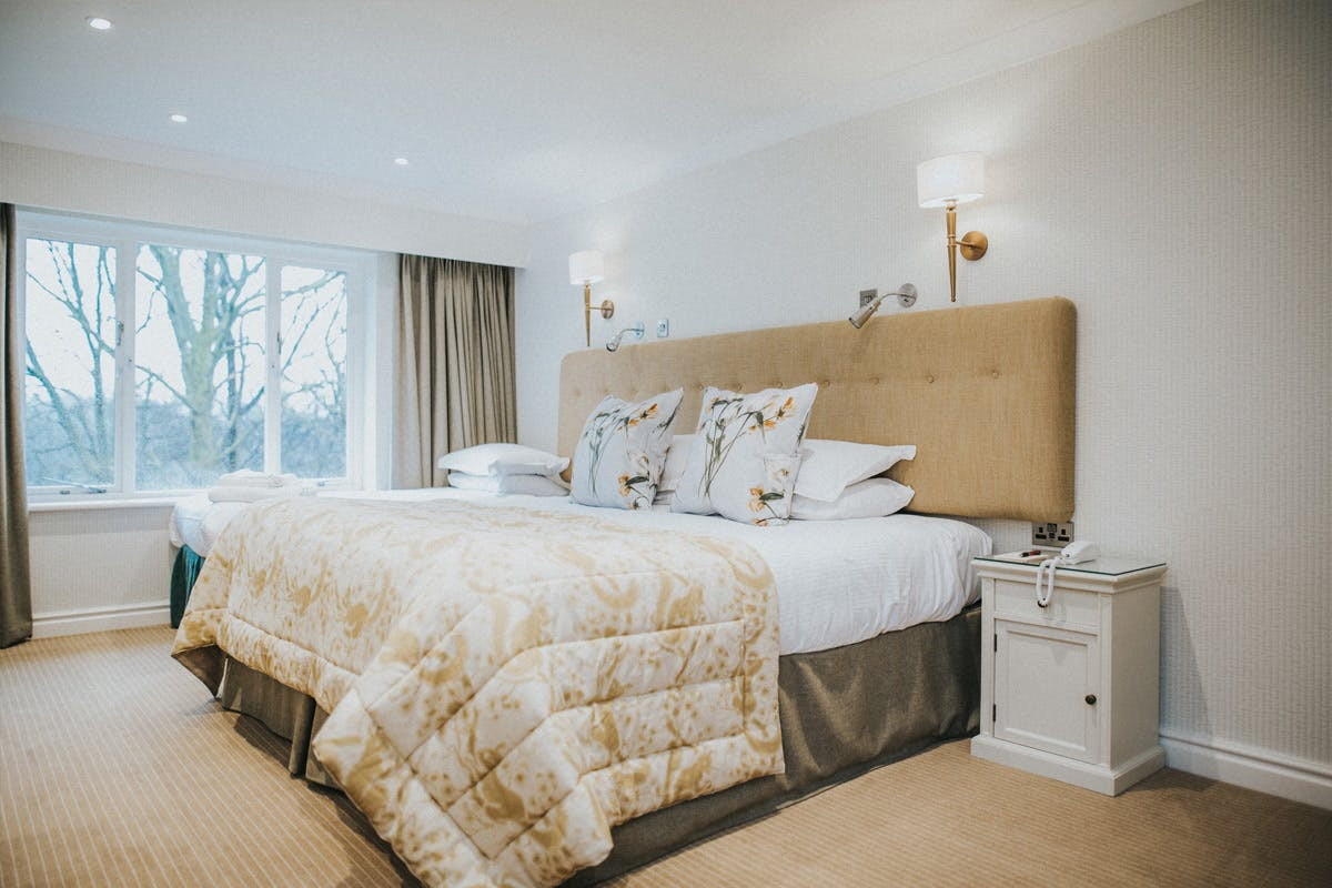 One Night Lake District Break with Five Course Dinner for Two at Cragwood Country House Hotel, Windermere