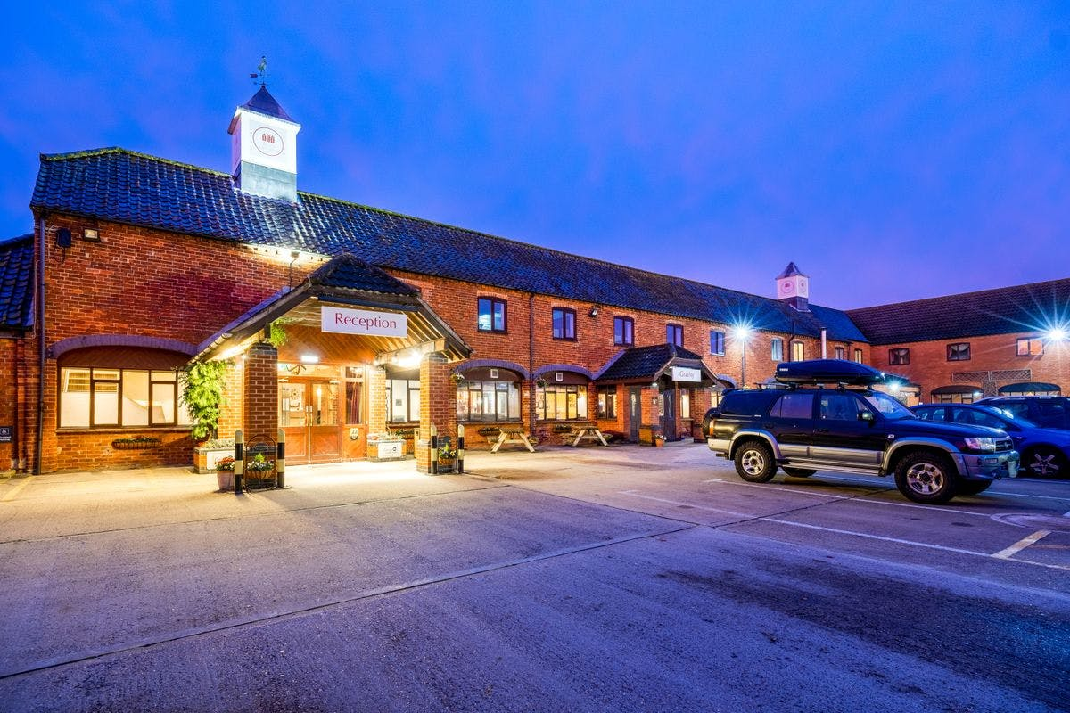 Two Night Lincolnshire Break with Afternoon Tea for Two at The Olde Barn Hotel