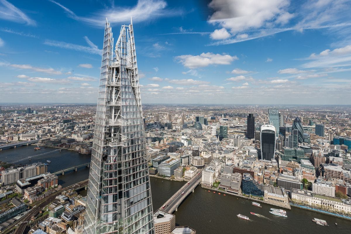 One Night London Break with Bottle of Prosecco and The View from The Shard for Two