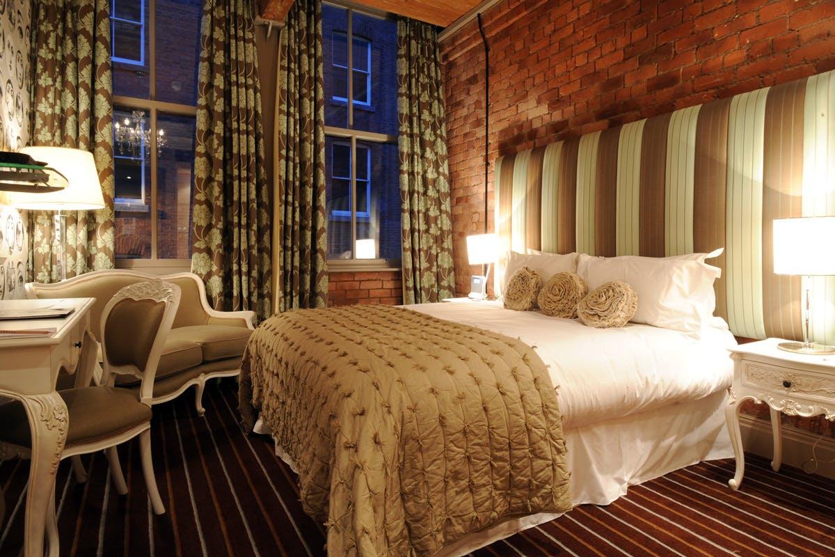 One Night Manchester City Break for Two at the Luxury Velvet Hotel