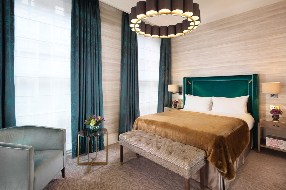 One Night Luxury London Break with Seven-Course Tasting Menu for Two at the 5* Flemings Hotel, Mayfair