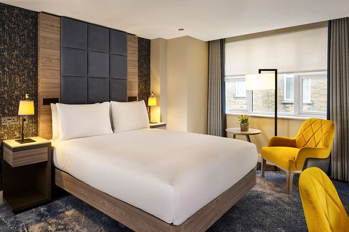 One Night Stay with Afternoon Tea for Two at DoubleTree by Hilton London West End