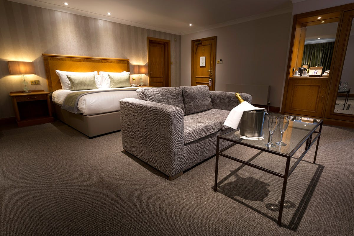 One Night Sussex Weald Break with Dinner and Golf for Two at the Dale Hill Hotel