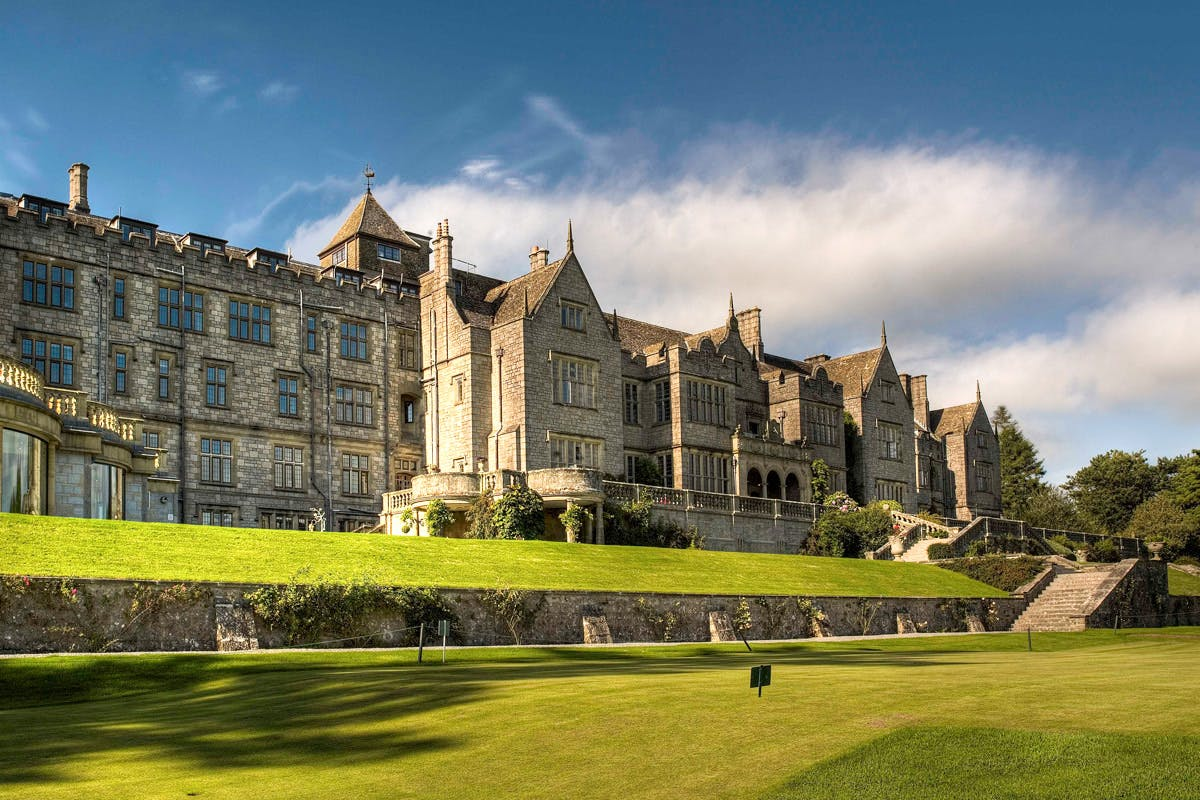 One Night Dartmoor National Park Luxury Spa Break with Dinner and Treatment for Two at the 5* Bovey Castle Hotel