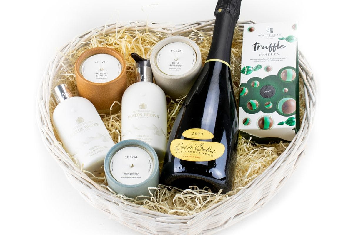 Pamper at Home with Molton Brown and St Eval Hamper