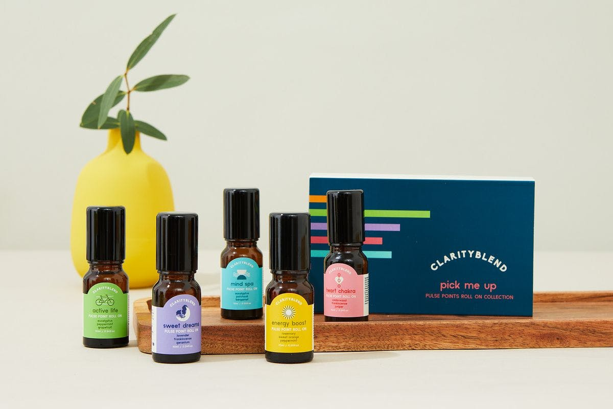 Pick Me Up Pulse Point Essential Oil Gift Set