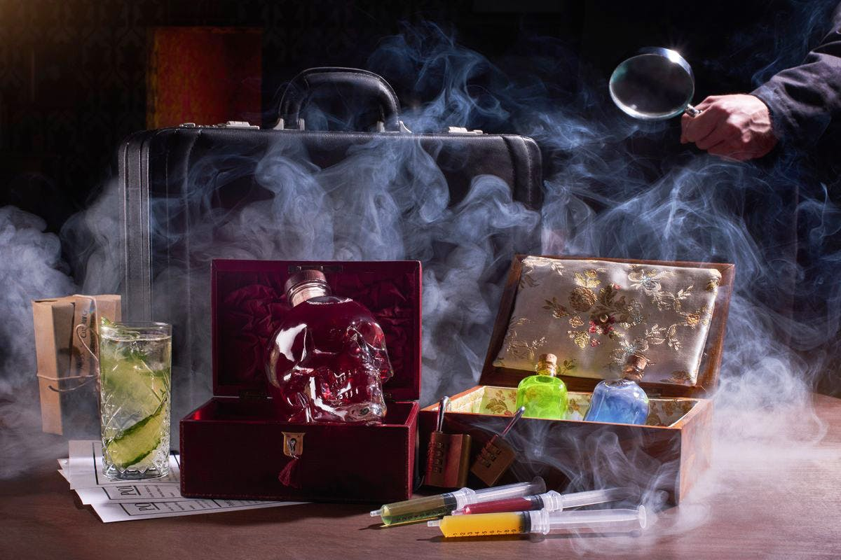 Play at Home: Sherlock's Immersive Cocktail Experience for Two