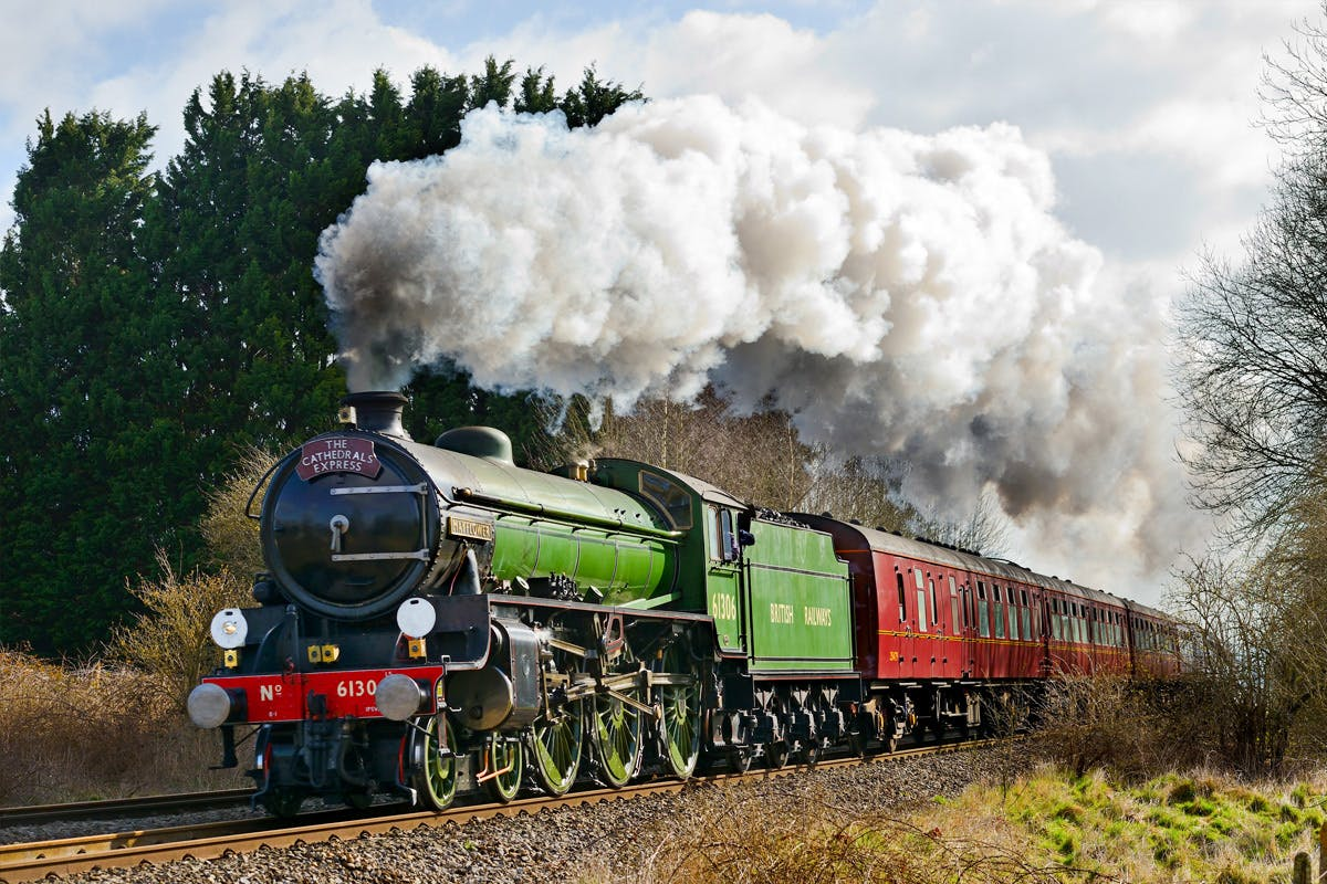 Premium Standard Steam Train Experience for Two with The Steam Dream Rail Co