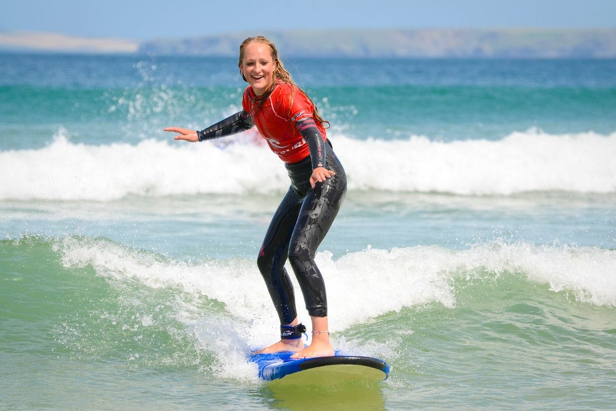Private Taster Surf Lesson for Four at Newquay Surf School