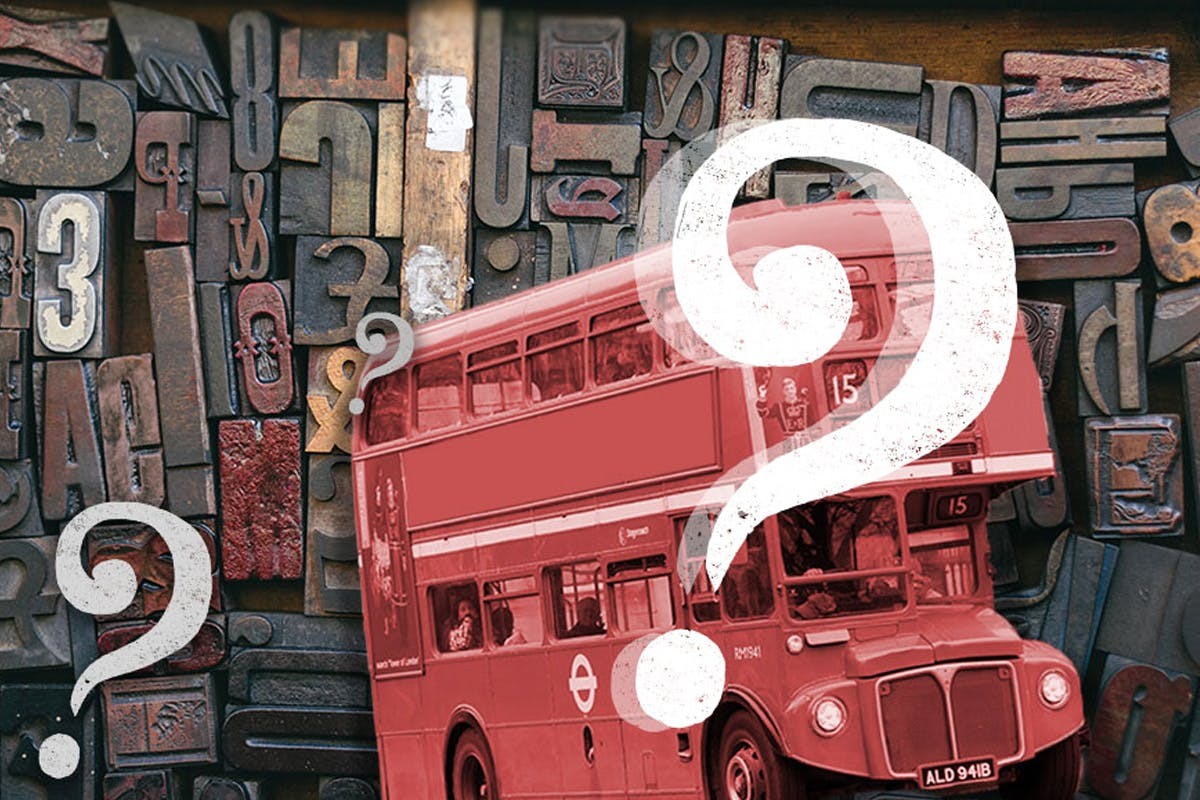 QI - The London Myth Busting Tour on a Vintage Bus with Pub Lunch for Two