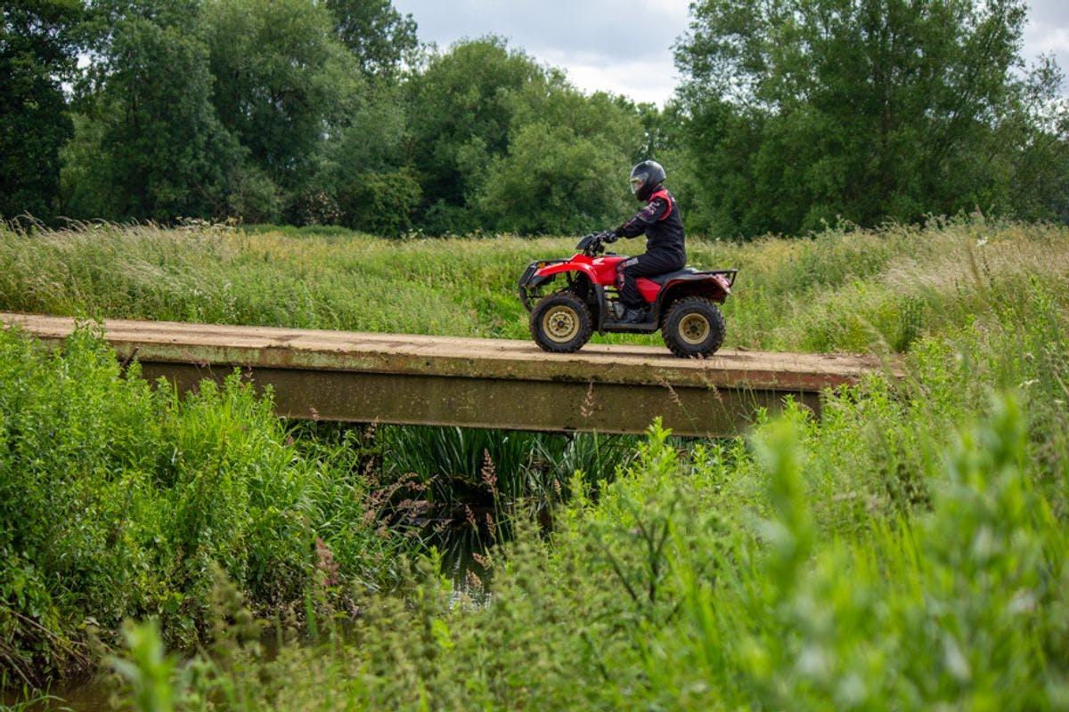 Quad Bike Safari at Wilton Mill