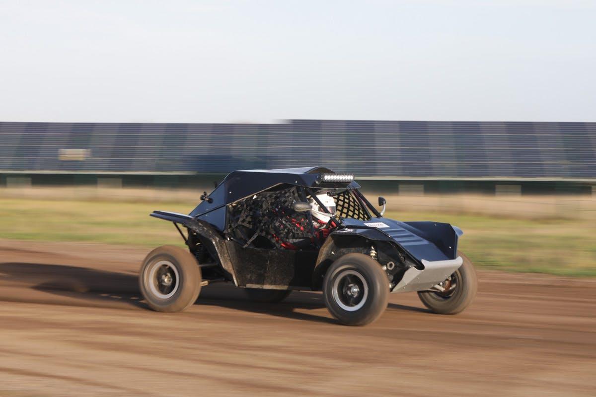 Extreme Rage Buggy Passenger Hot Ride