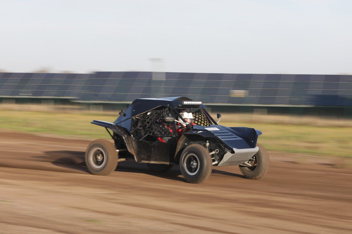 Rage Buggy Experience with Passenger Ride