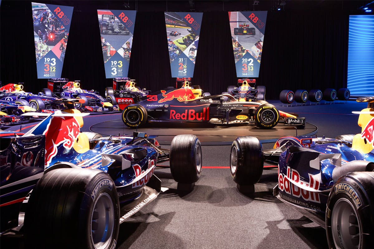 Red Bull Racing Formula One Team Factory Tour for Two