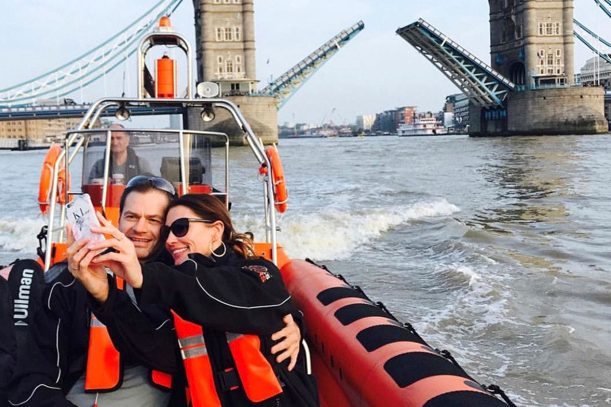 Ride the Tiger London Speedboat Experience for Two