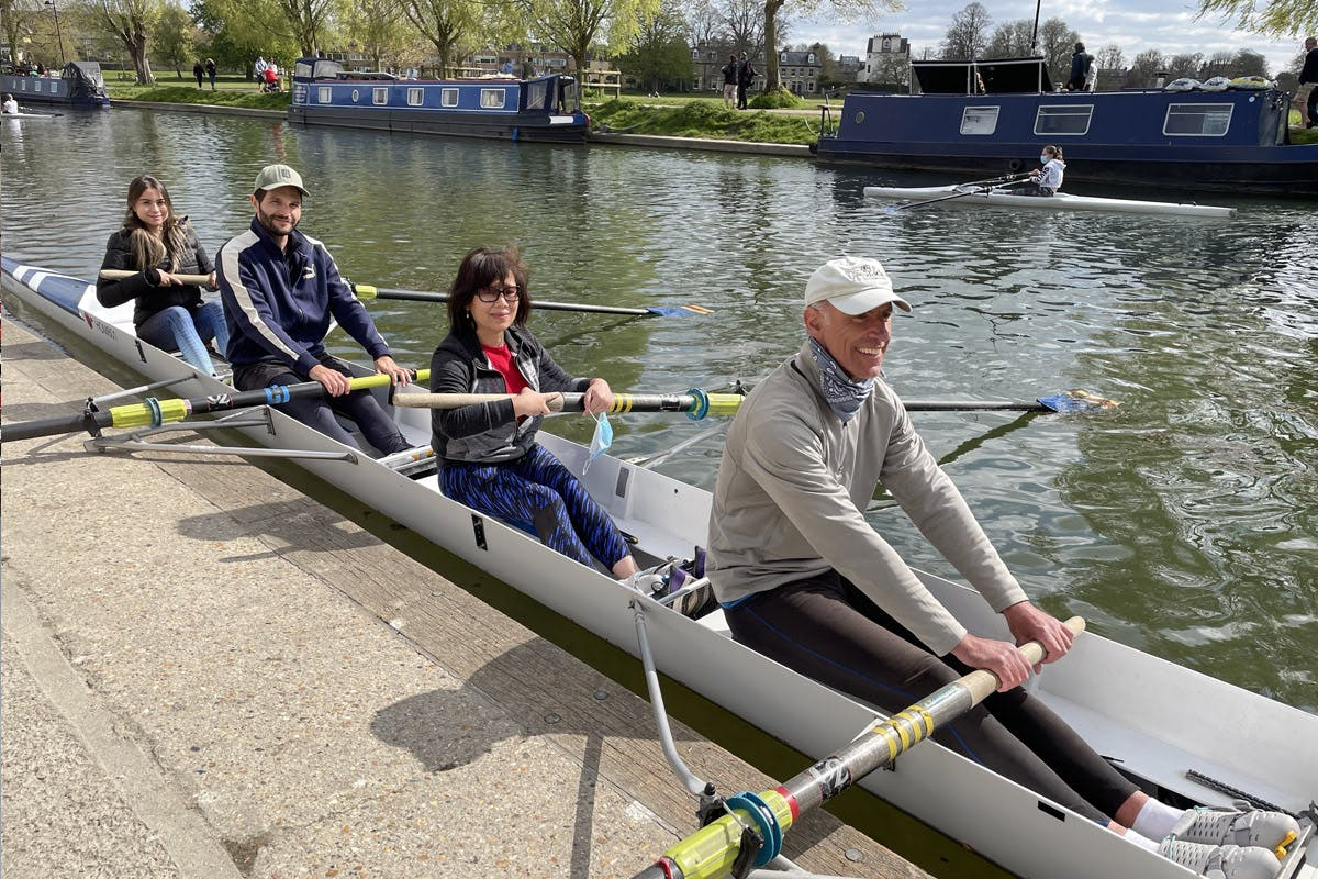 Rowing Experience for Two with the City of Cambridge Rowing Club