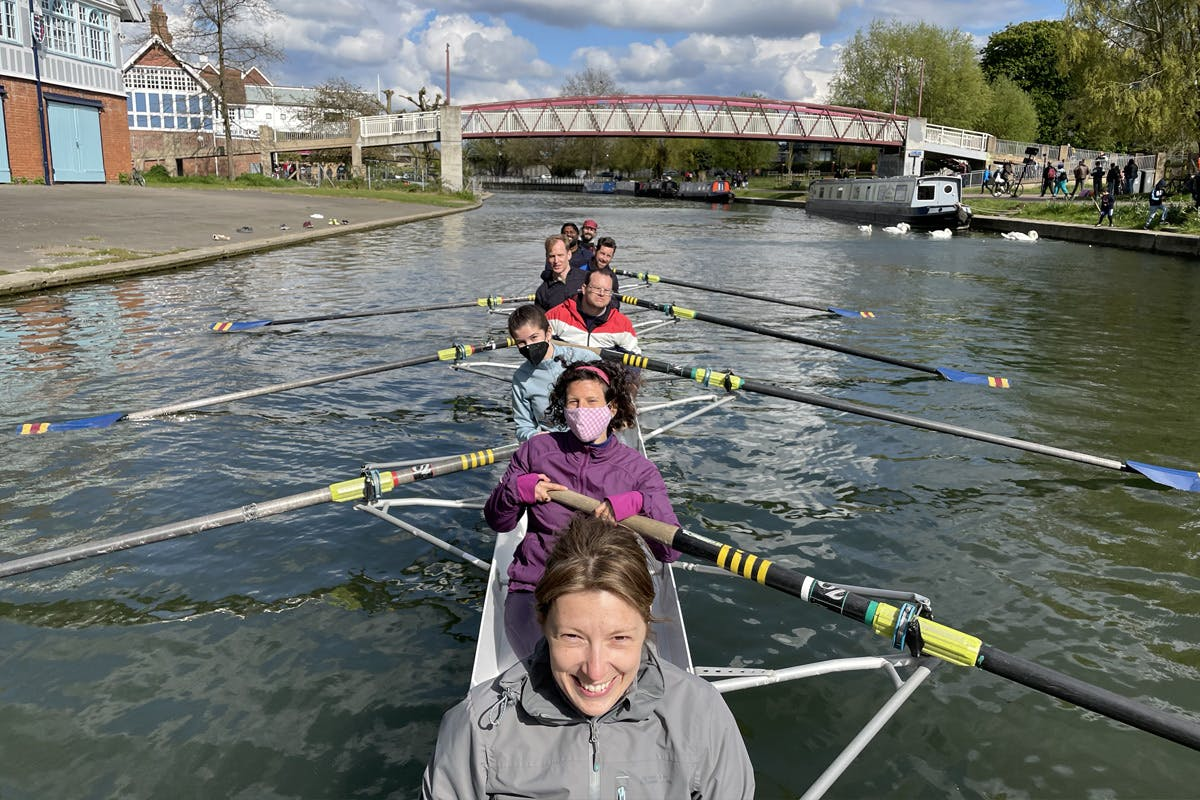 Rowing Experience with the City of Cambridge Rowing Club
