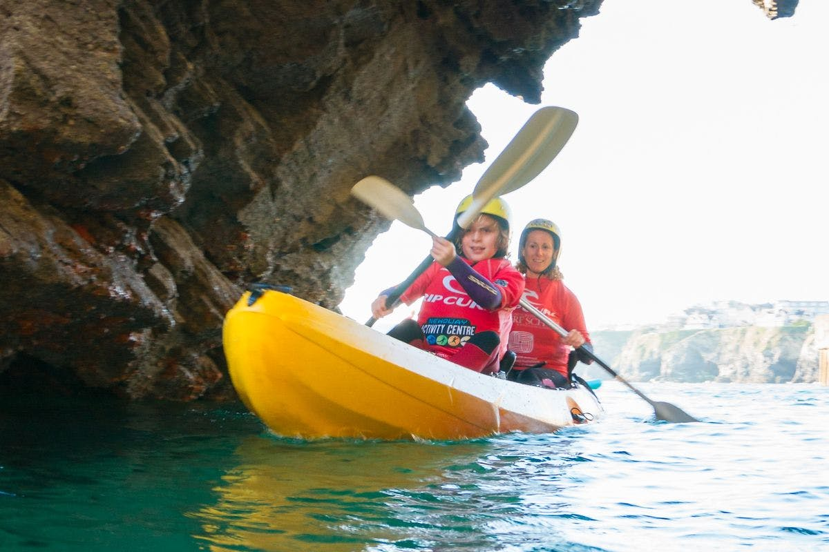 Sea Kayaking Tour for Two In Newquay