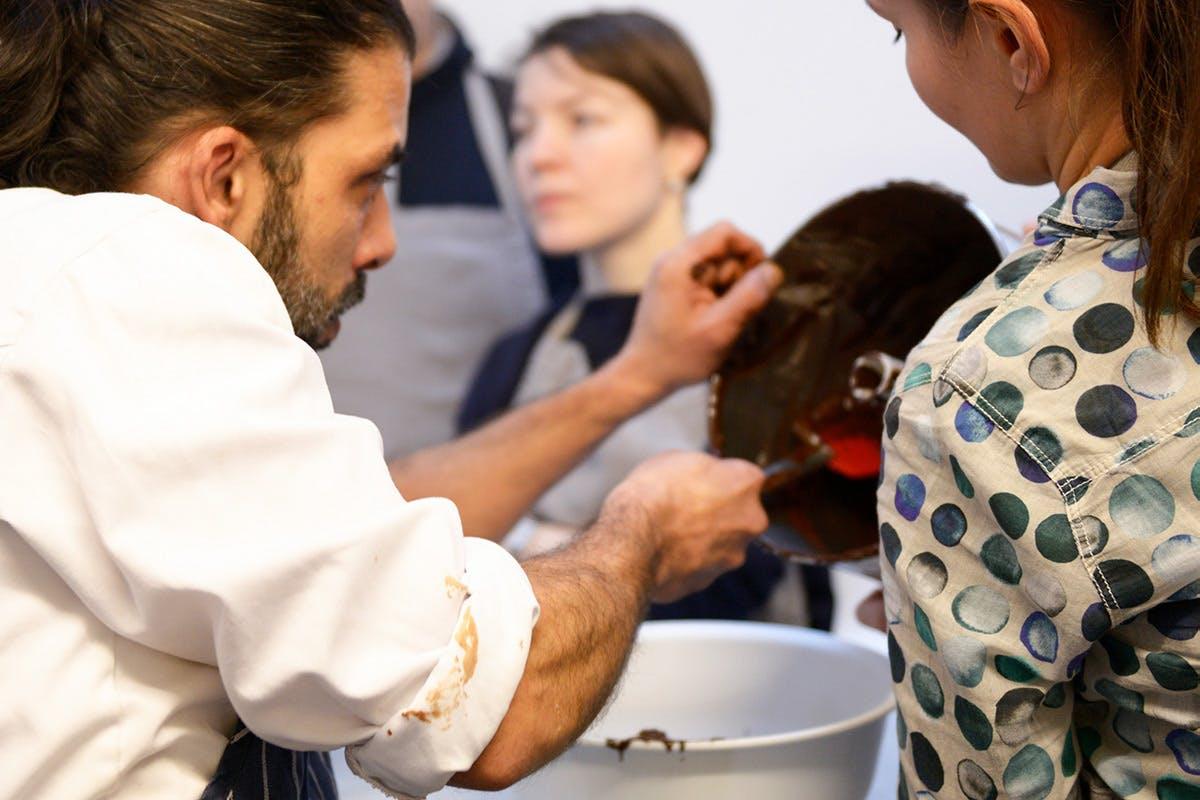 Sea Salt Chocolate Bon Bon Making Class for Two with Melt Notting Hill, London