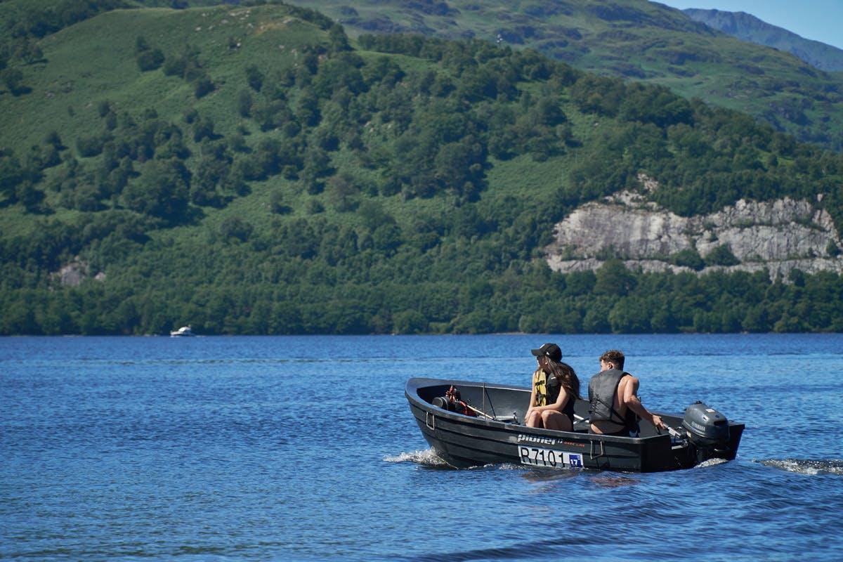 Self-Drive Motorboat Hire on Loch Lomond