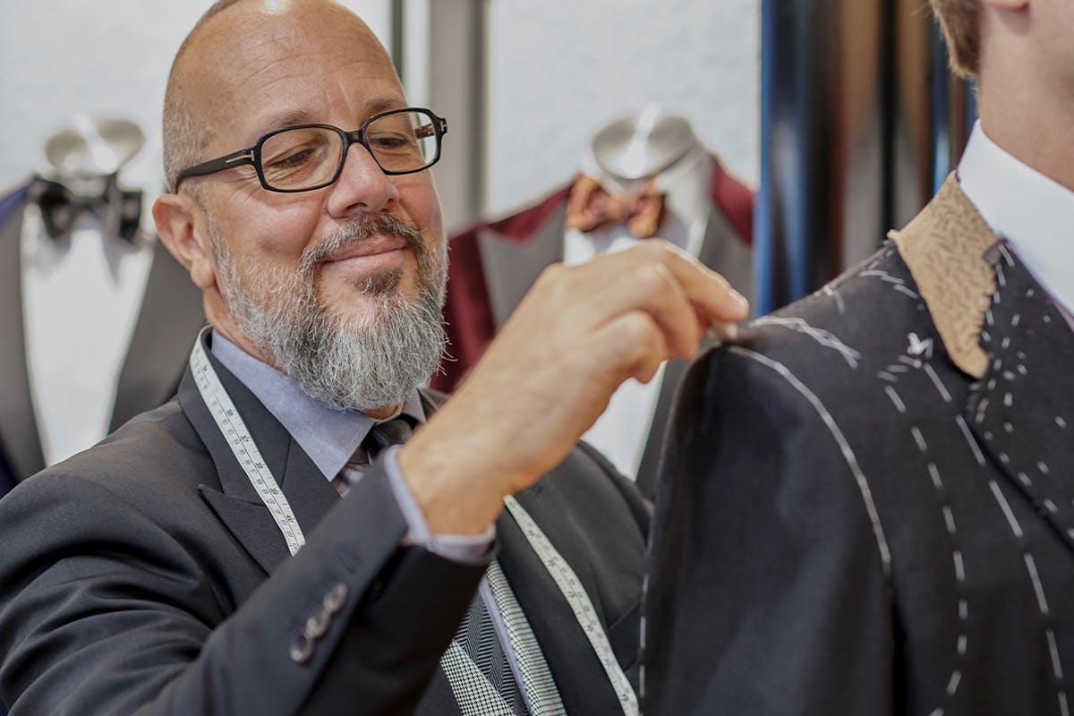 Semi-Bespoke Tailored Gentleman's Suit Experience at London's Famous Savile Row