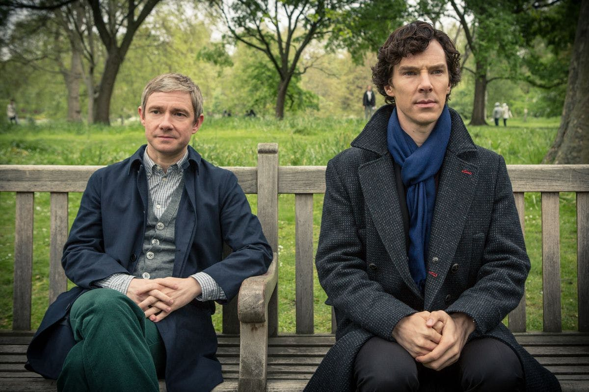 Sherlock: The Official Outdoor Game for Two Adults and Two Children