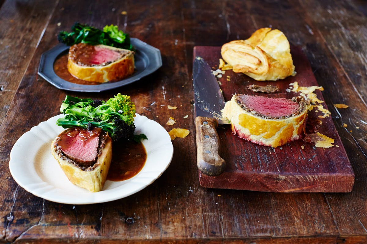 Showstopping Beef Wellington Class at Jamie Oliver's Cookery School