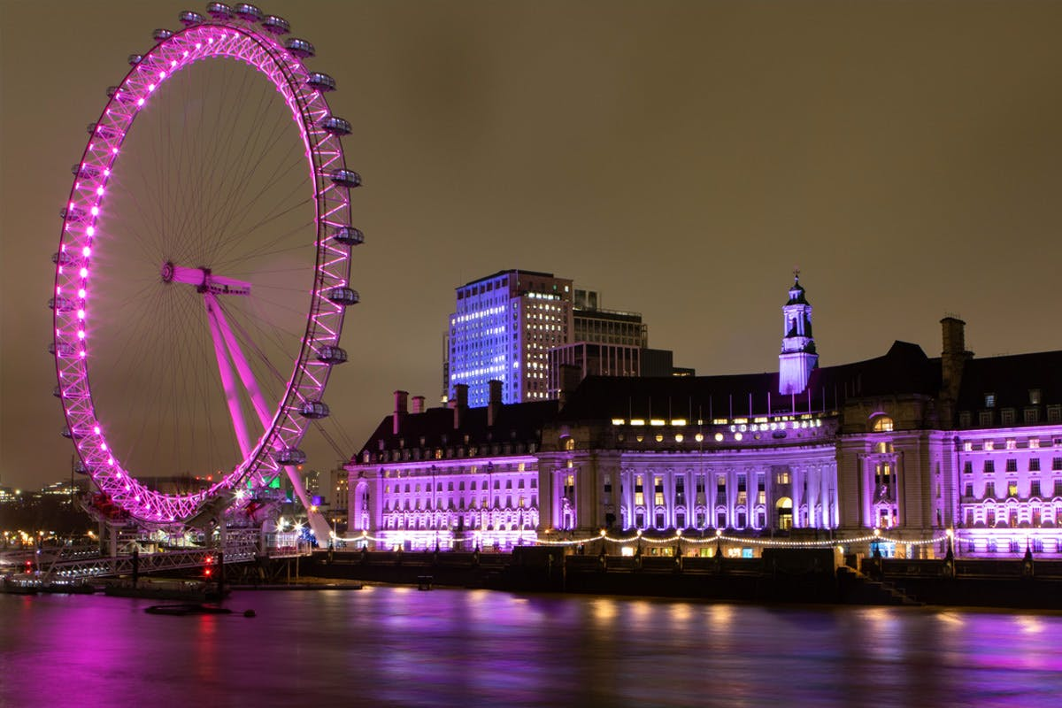 Sights of London One Night Break with The London Eye for Two