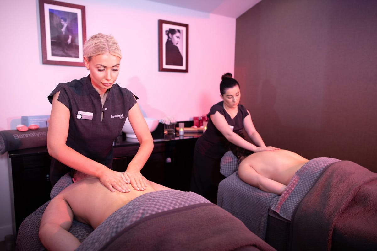 Soothing Half Pamper Day with Deep Tissue Back Massage for Two at Bannatyne Health Clubs
