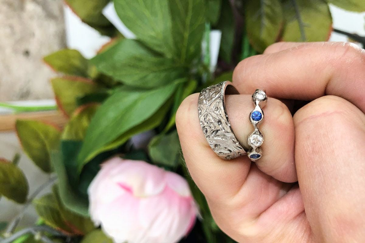 Spend the Day Hand Crafting Your Own Wedding Rings with Afternoon Tea for Two