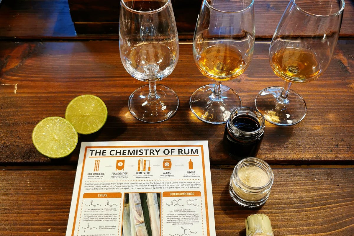 Spiced Rum Creation Class with Unlimited Rum and Ginger Beer at The Liquor Studio