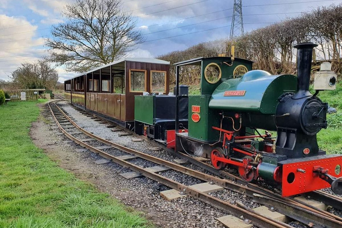 Steam Train Driving Taster Experience at Sherwood Forest Railway
