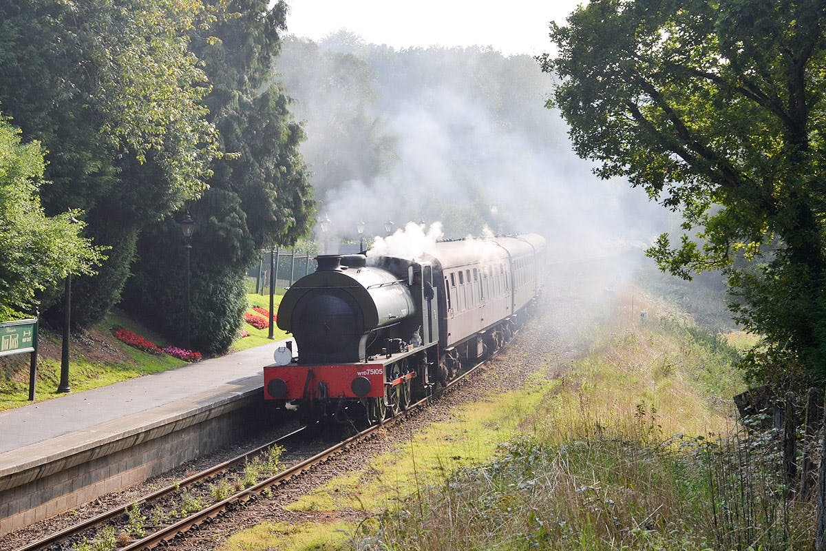 Steam Train Trip on The Spa Valley Railway with Cream Tea and Prosecco for Two