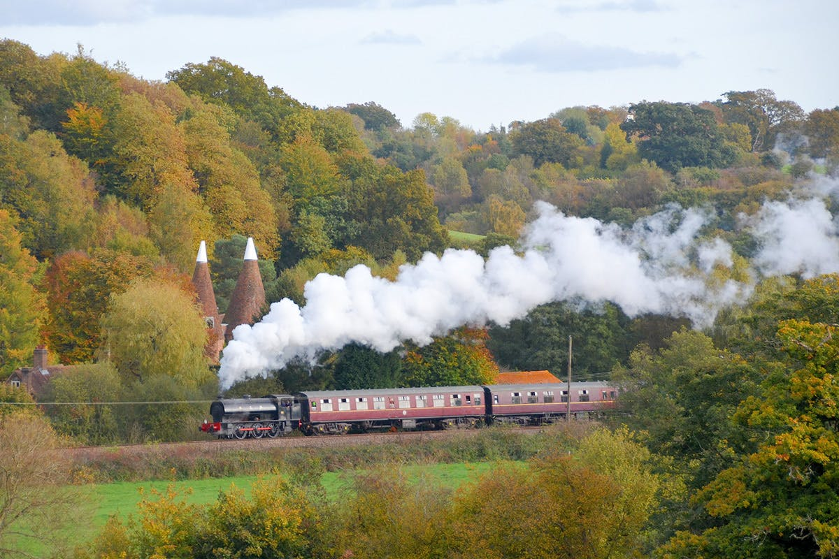 Steam Train Trip on the Spa Valley Railway