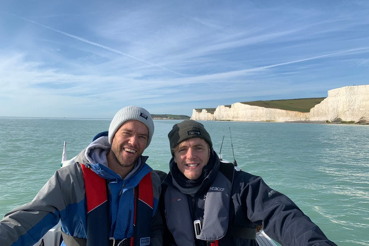 Sussex Coastal Boat Trip to the Seven Sisters for Two