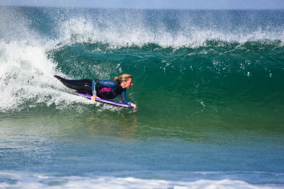 Taster Bodyboarding Lesson for Two in Newquay